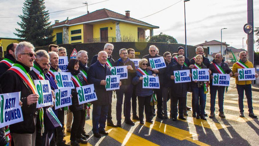Conte sul cantiere della Asti-Cuneo: qui per risolvere problemi