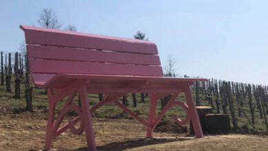 Photo of Anche Alice Bel Colle adesso ha la sua panchina gigante