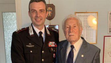 Photo of L'Arma ha festeggiato i 101 anni del maresciallo Quaglia