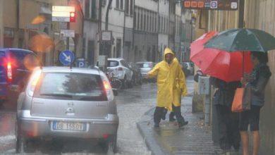 Photo of In arrivo precipitazioni intense, per l'Arpa è allerta gialla