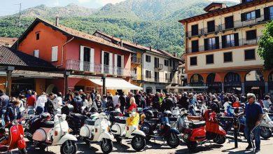 Photo of Domenica 7, raduno di Vespe  a Omegna con finalità benefiche