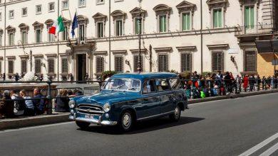 Photo of L'auto usata dalla famiglia di Aldo Moro in mostra a Torino