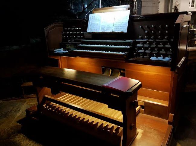 L'organo della Basilica Antica di Oropa
