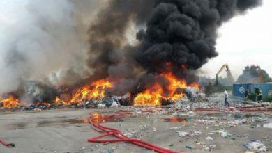 Photo of Incendio rifiuti nel Vercellese, terminate le operazioni di spegnimento