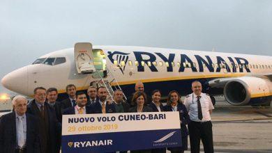 Photo of Cuneo, al via il collegamento con Bari: voli tre volte la settimana