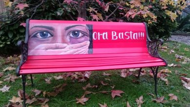 Photo of Violenza sulle donne, una panchina rossa nel giardino storico del Mauriziano