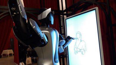 Photo of La Gioconda disegnata da un robot al Mastio della Cittadella