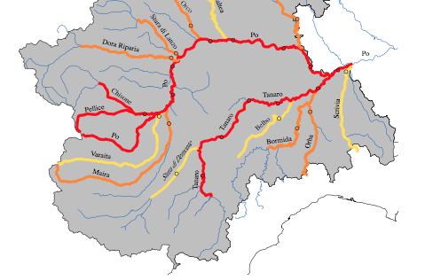 Cartina Fiumi Valle D Aosta.Alla Scoperta Di Fiumi Torrenti E Canali Irrigui Del Piemonte Piemontetopnews