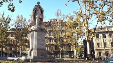 """Photo of A Torino, le """"tre sentinelle di pietra"""" dei Giardini della Cittadella"""