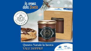 Photo of Questo Natale la bontà del Cioccolato Calcagno vale il doppio