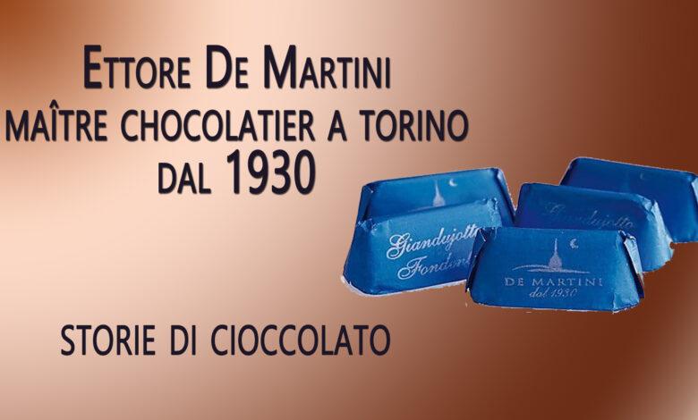 Photo of Storie di cioccolato: Ettore De Martini, maître chocolatier a Torino