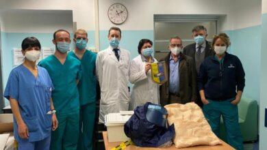 Photo of Ausili per la cura di pazienti Covid donati dal Rotary Moncalieri al Mauriziano di Torino