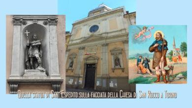 Photo of La Chiesa di San Rocco in Via San Francesco d'Assisi a Torino e quella statua di Sant' Espedito in una nicchia della facciata